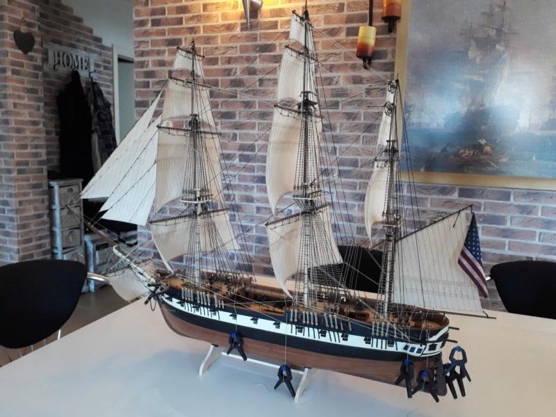 USS CONSTELLATION von Artesania Latina - Seite 13 20200212