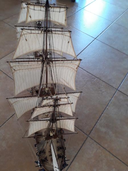 USS CONSTELLATION von Artesania Latina - Seite 13 20200230