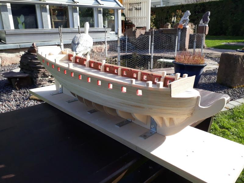 Englische Fregatte um 1800 / 1:75 20200399