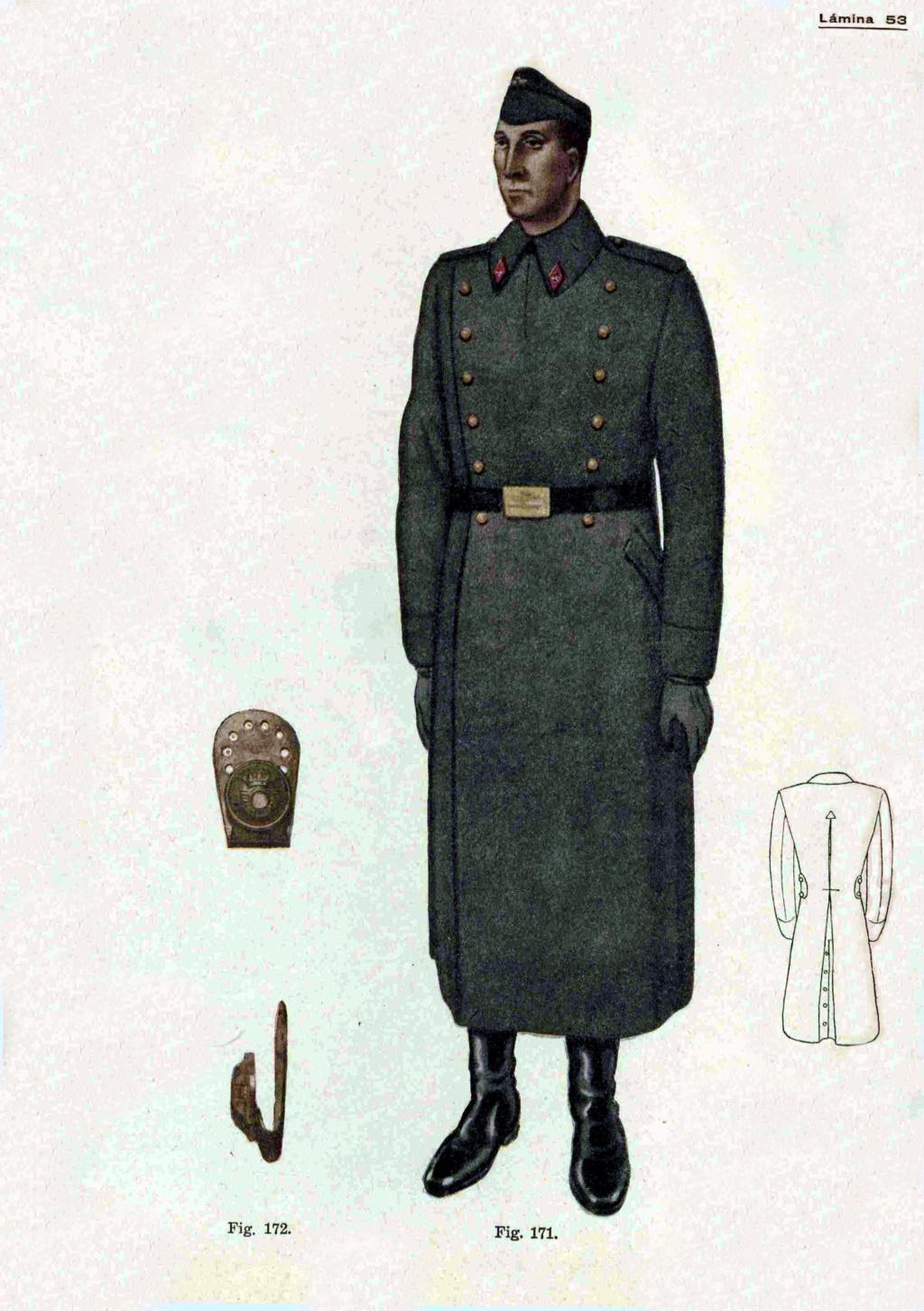 Gancho metálico terminado en botón, Infantería, Alfonso XIII, 1909-1931 11911