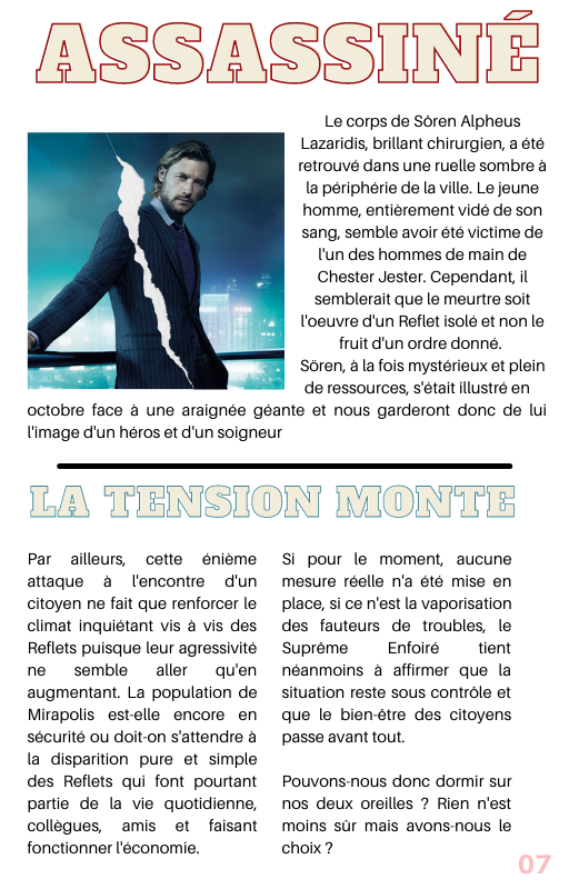 "The Mirror - Extra ""Au revoir"" 717"