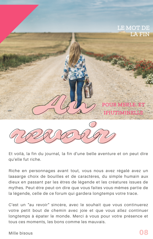 "The Mirror - Extra ""Au revoir"" 816"
