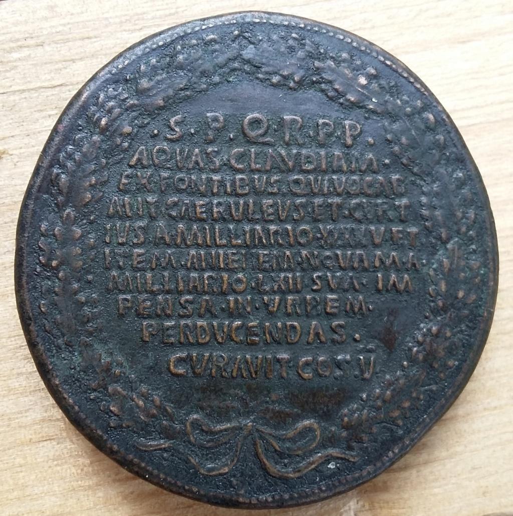 Médaille romaine ? D'époque ? XVIIIe? XIXe? 20190813