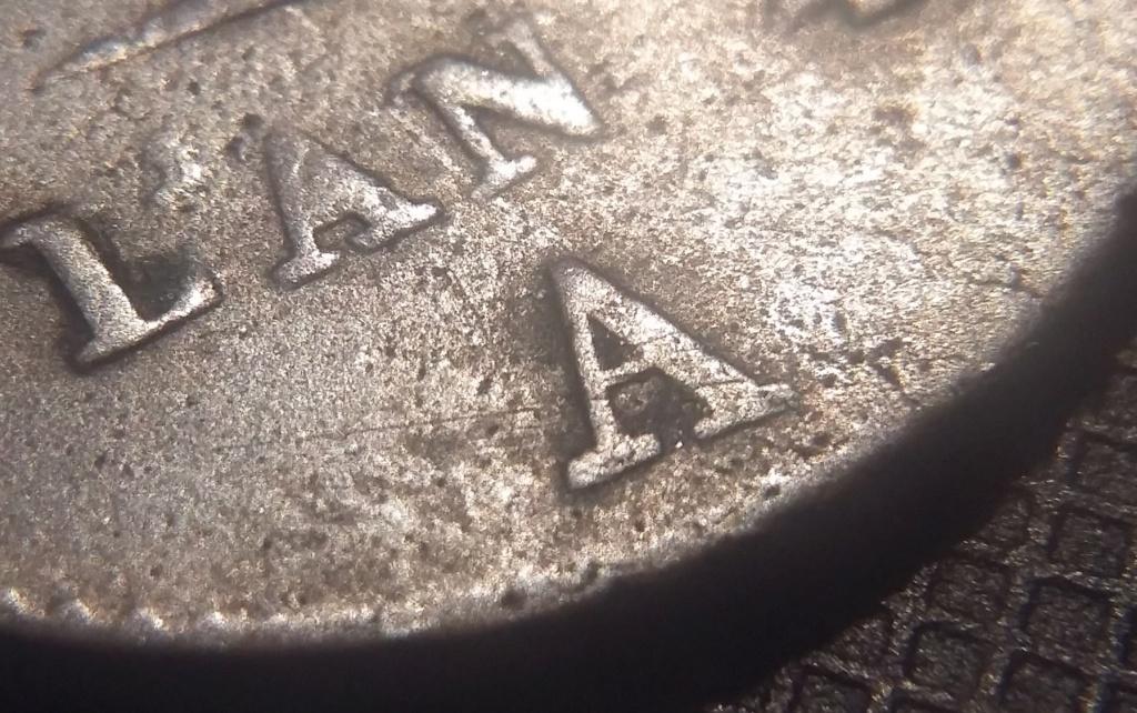 5 Centimes An 4 A Petit module Variété V inversé ! Répertorié ?? 20200416