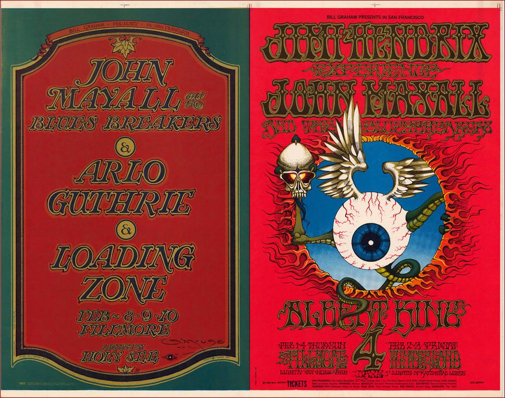 San Francisco (The Fillmore Auditorium) : 1er février 1968 [Premier concert] Jimi10