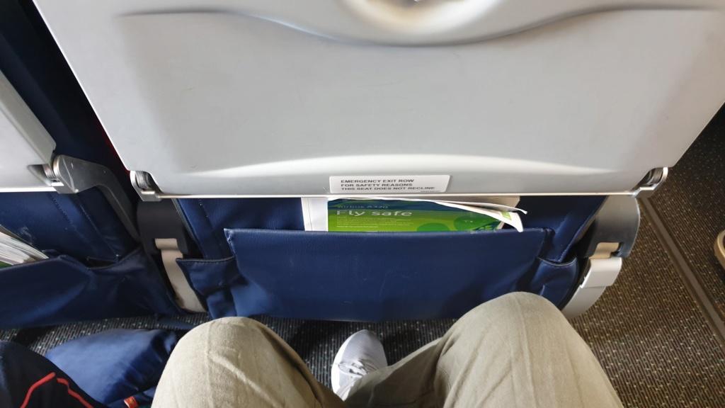 août 2019 : retour sur 21 jours de DDP au POR et feedback Aer Lingus 20190812