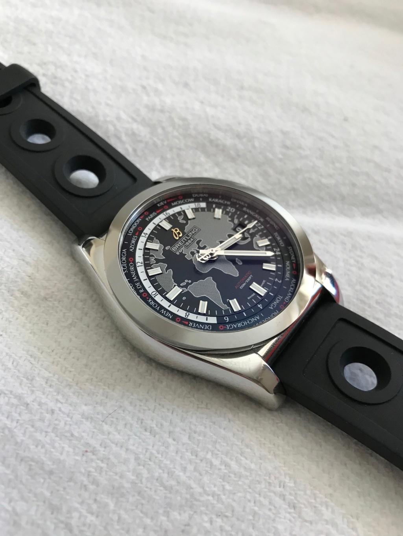 Vends - [Baisse de prix][Vends] Breitling Galactic Unitime garantie Uni410