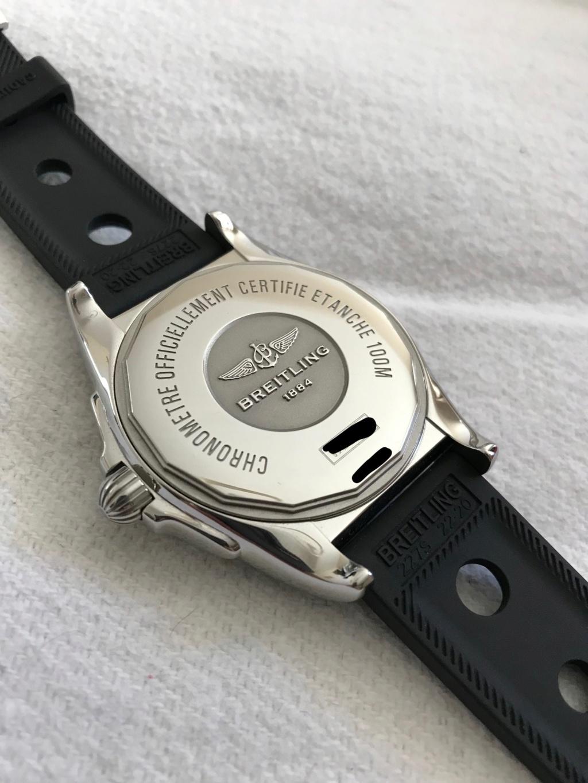 Vends - [Baisse de prix][Vends] Breitling Galactic Unitime garantie Uni510