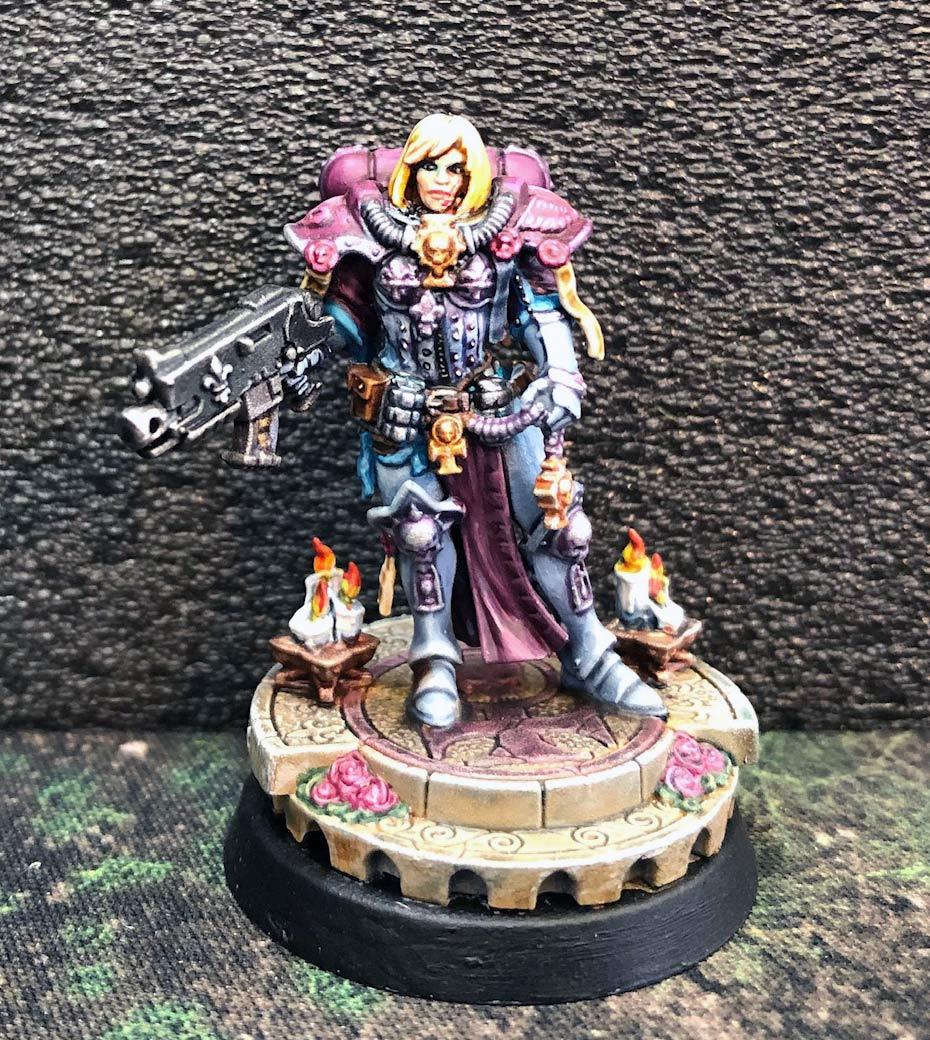 Sisters of Battle, also druids Amalia10