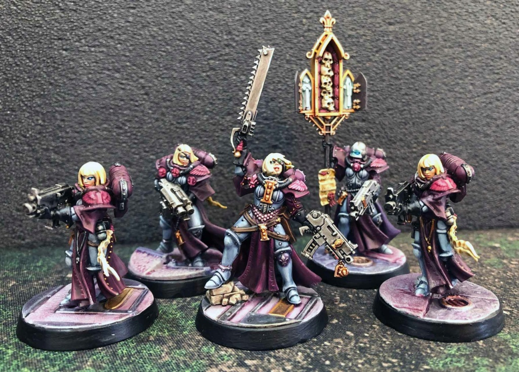 Sisters of Battle, also druids Sister11