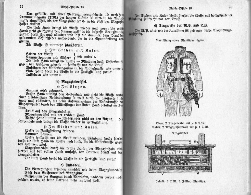 Livrets et manuels du Luger P08 et Parabellum Img20203