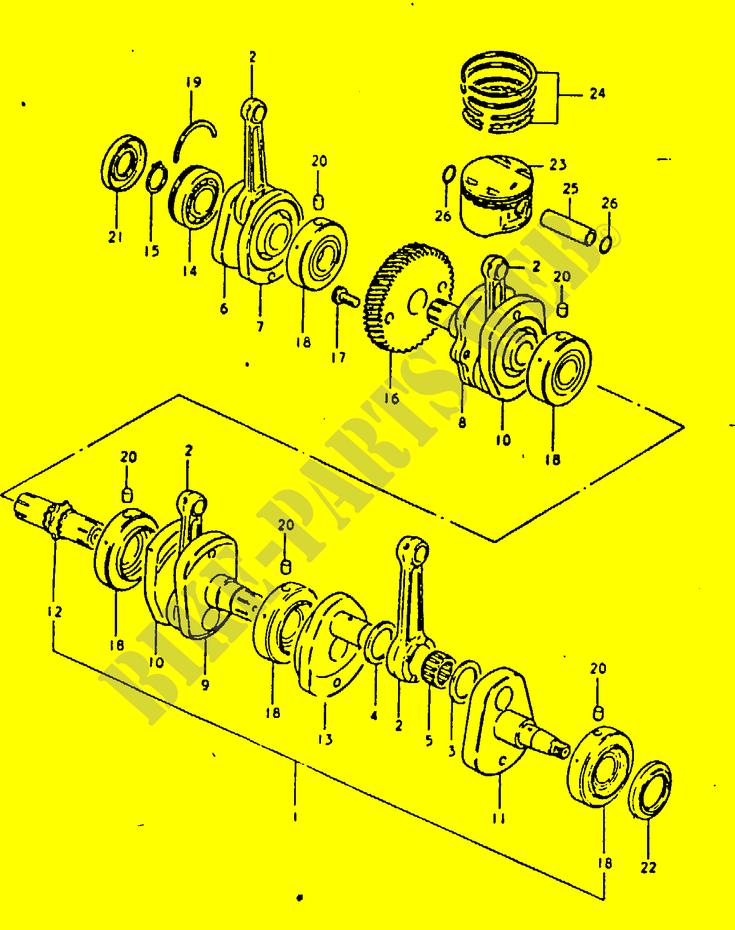 Changer spi de roulement de vilo GSX1100 Vilebr10