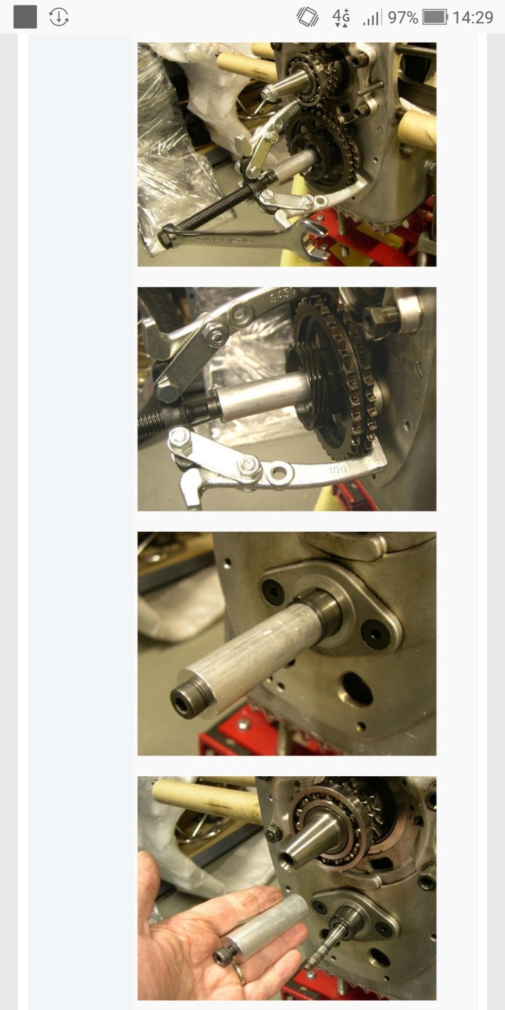 Refection moteur R50 Scree153