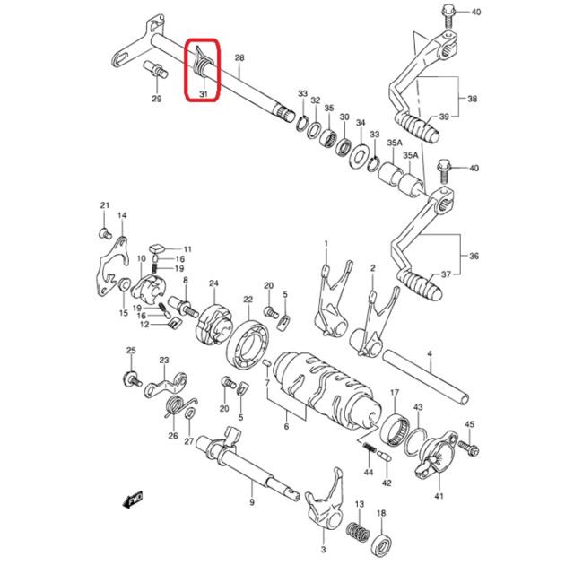 Suzuki 400 DRZ-S kevin134 modifs vers la E - Page 4 09444_12