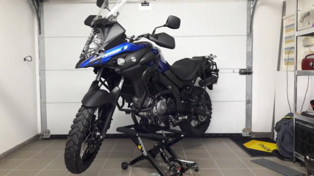 Mon Suzuki V-Strom  XT baroudisé  20210522