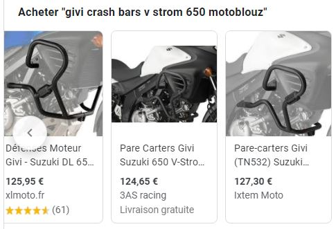 [TOPIC] Baroudiser la Suzuki V-strom 650 - Topic en construction  Crashb10
