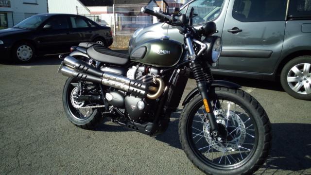 Triumph 900 Scrambler Kaki  Img-2011