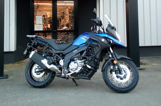 Mon Suzuki V-Strom  XT baroudisé  Img_2075