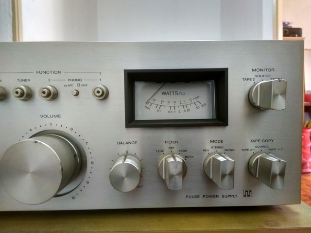 Miscellanous Items: Sony TA-F5 Integrated Amplifier(USED), Nakamichi Tape Head(USED), Arrow Hart Receptacle(NOS) Img_2034