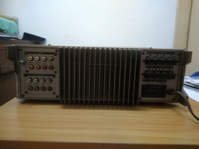 Miscellanous Items: Sony TA-F5 Integrated Amplifier(USED), Nakamichi Tape Head(USED), Arrow Hart Receptacle(NOS) Img_2041