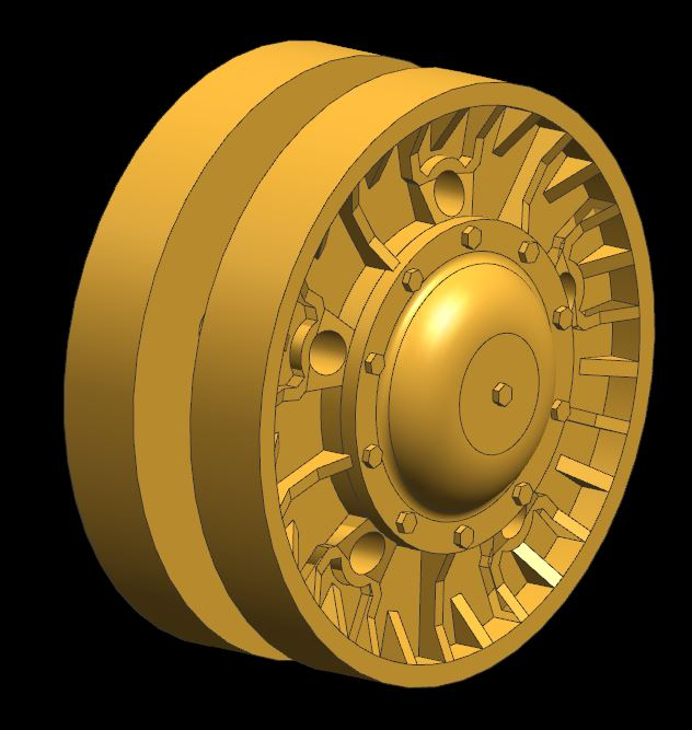 IS-3 Roadwheels - Yet another 3D Printer Project... Is3_ro12