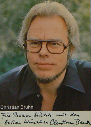 Christian Bruhn (Кристиан Брюн) - немецкий композитор Christ11