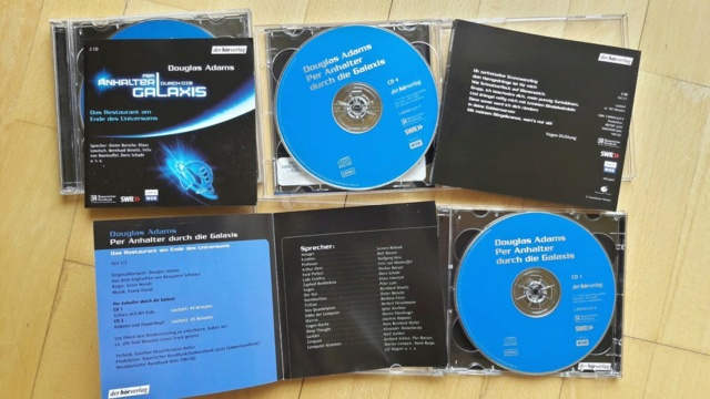 "Douglas Adams - ""Per Anhalter Durch Die Galaxis"" (Audiobook) Dougla12"