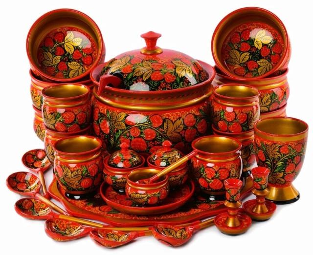 Живописные и расписные прикладные декоративные техники Hohlom10