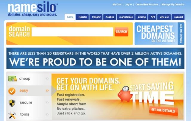 Хостинги и доменные имена Namesi10