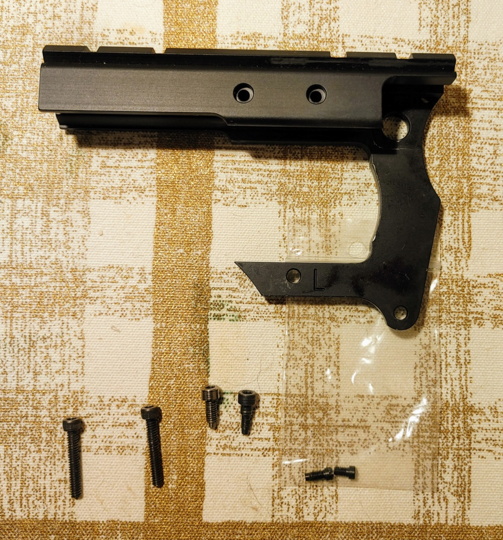 Sold: Aim-Tech no-drill Scope Mount for S&W L Frame Revolvers Aim-te12