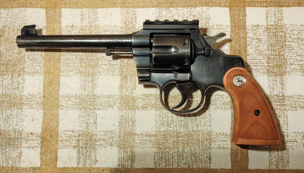 WITHDRAWN:Colt Officers Model .38 Sp Revolver - Second Issue Colt_o11