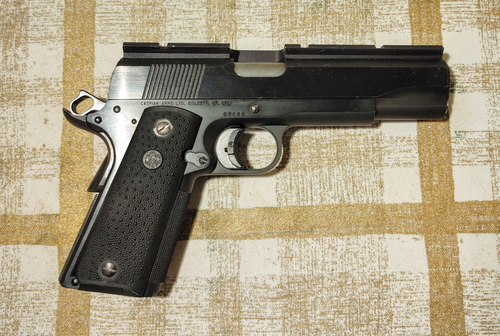 SPF: 1911 .45ACP Wadgun by George Carell + .22 Advantage Arms Conversion - Complete Bullseye Package  Pistol10