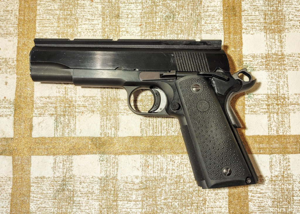 SPF: 1911 .45ACP Wadgun by George Carell + .22 Advantage Arms Conversion - Complete Bullseye Package  Pistol11