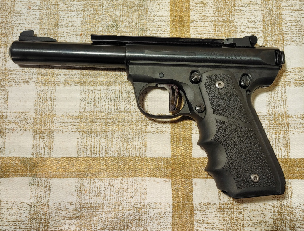 SPF: Ruger 22/45 MKIII Target with Volquartsen and Tandemkross Upgrades and Extras Ruger_11