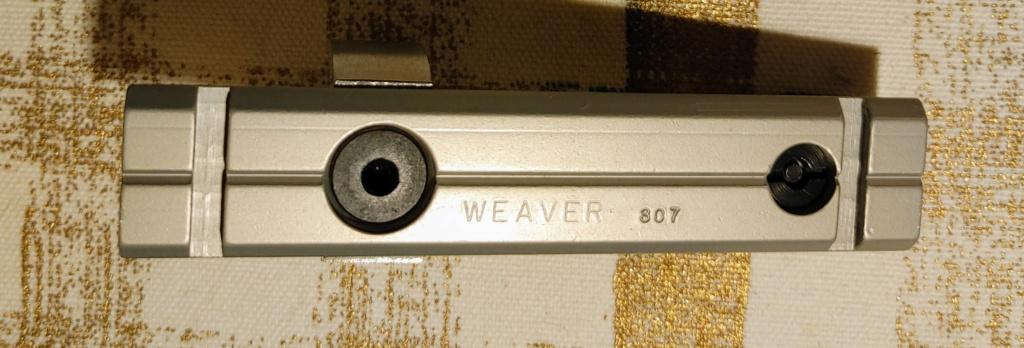 SOLD: Weaver Scope Mount #307s for S&W K/L Revolvers - LNIB Weaver12