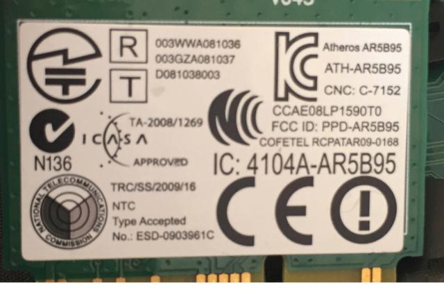 Fix Wifi Atheros dans macOS Mojave 10.14 Athero10