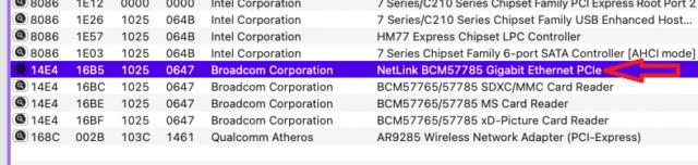 carte  réseau Acer (Aspire E1-571) Captur33