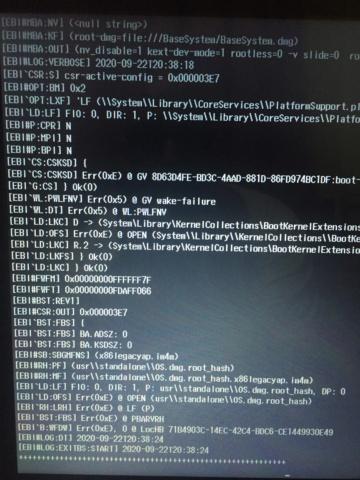 Problème au début de l'installation Big Sur  sur mon HP - Page 2 Img_0018