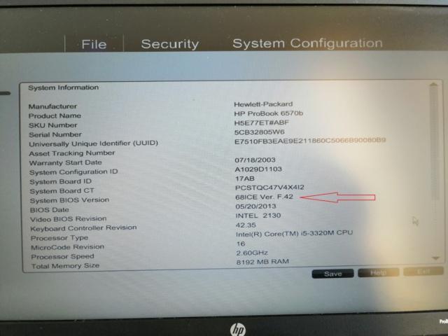 [résolu]update bios HP Probook 6570b Img_2012