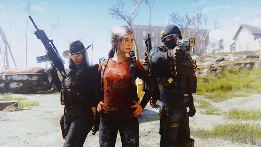 [FO4] The Last Of Us Ellie Mod Screenshots 20180640