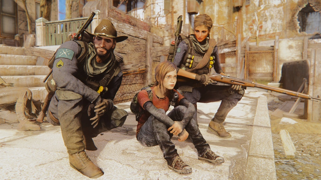 [FO4] The Last Of Us Ellie Mod Screenshots 20180641