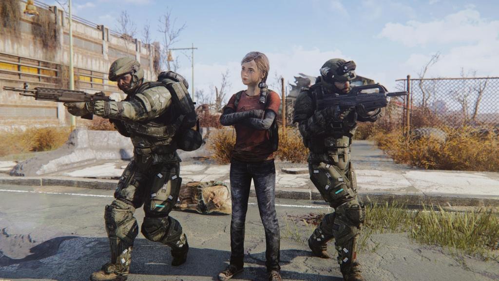 [FO4] The Last Of Us Ellie Mod Screenshots 20180642
