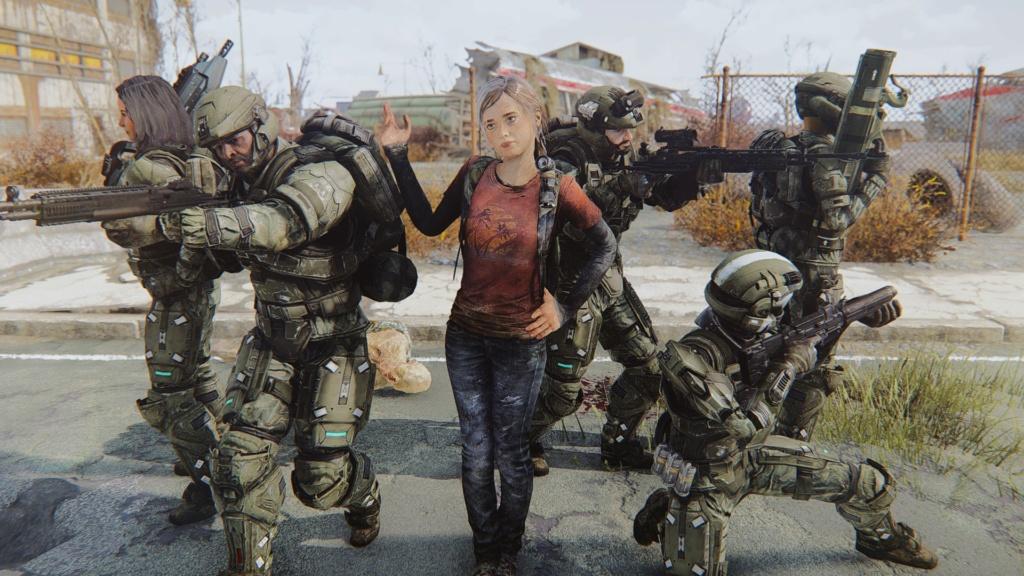 [FO4] The Last Of Us Ellie Mod Screenshots 20180643