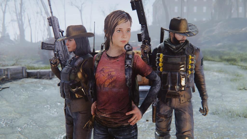 TLOU Ellie Mod Screenshots [Fallout 4] 20180644