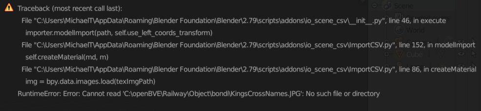 Modeling for OpenBVE in Blender 3D editor Image110