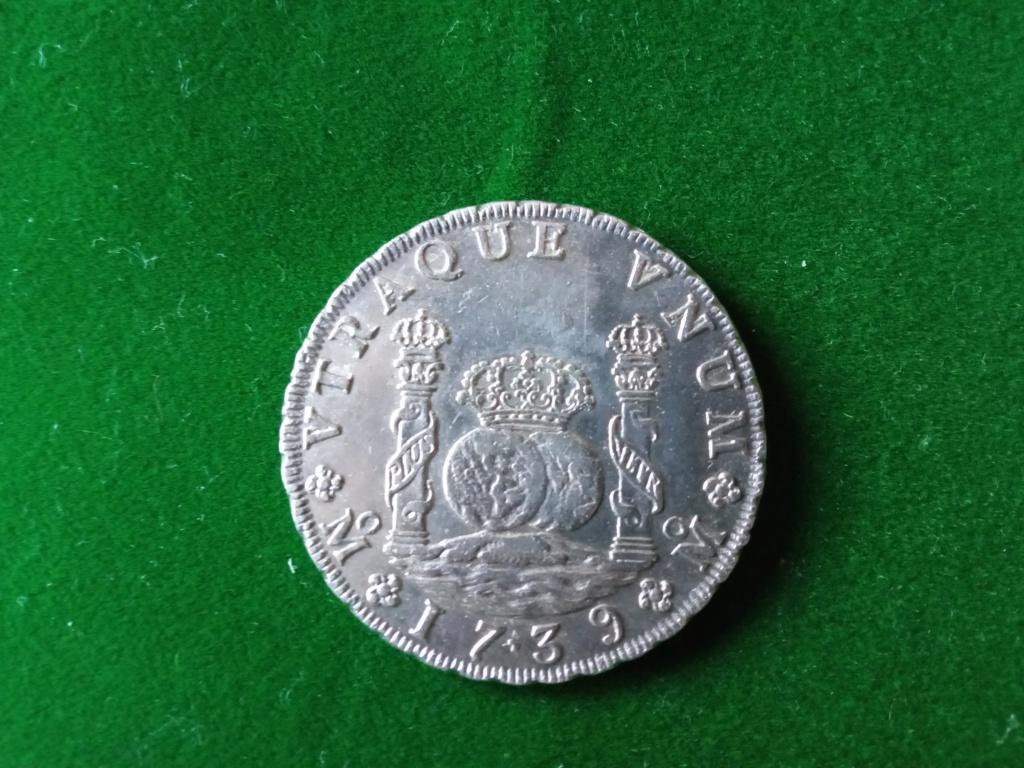 8 Reales Felipe V México 1739 Fv_111