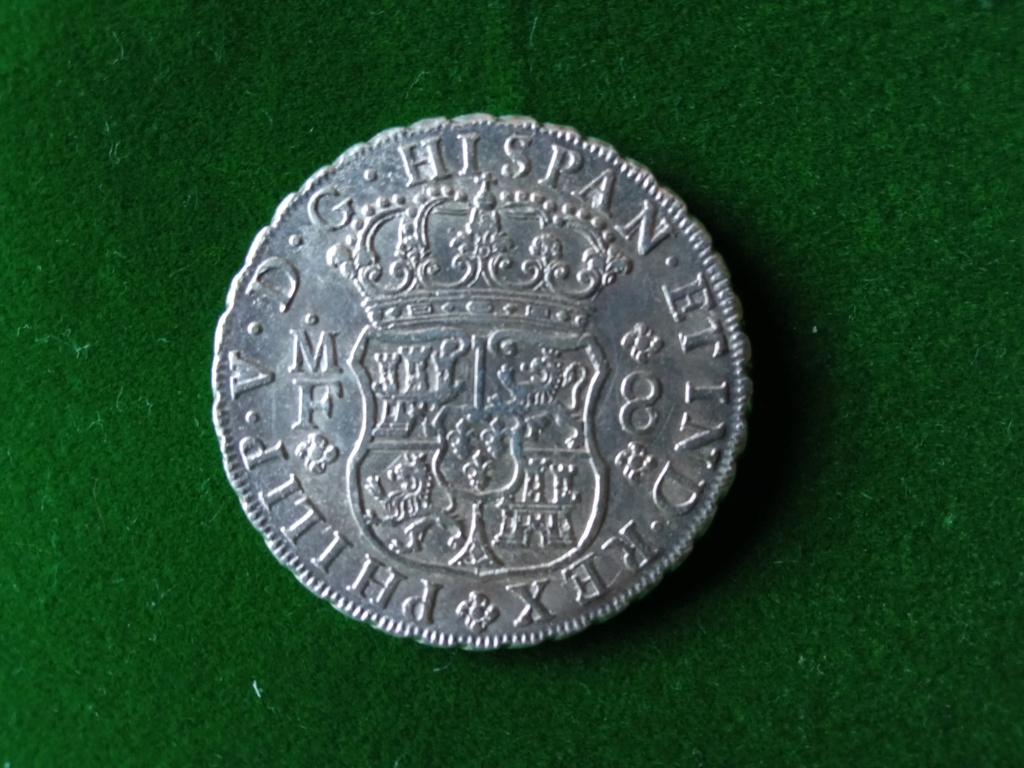 8 Reales Felipe V México 1739 Fv_412