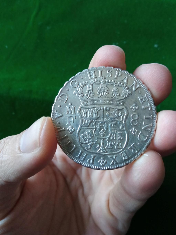 8 Reales Felipe V México 1739 Fv_611