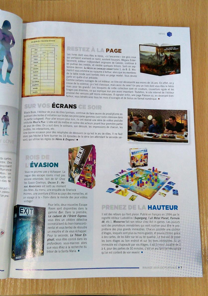 magazine Ravage jeux de plateau n°6 La_ges10