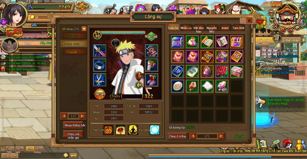 Webgame Naruto Truyền Kỳ (HOT HOT) 111